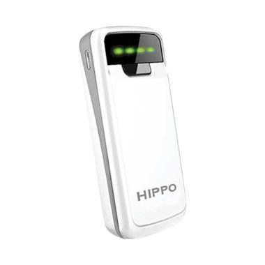 HIPPO Snow White Powerbank - Putih [5800 mAh/Full Pack]