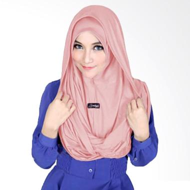 Kus Group Sosor Twist Hijab - Dusty Pink