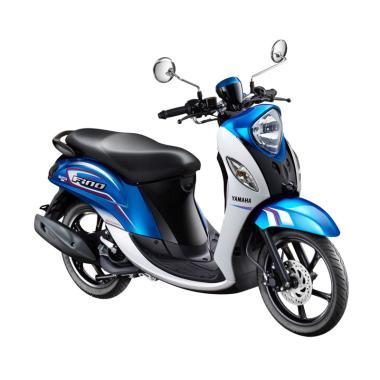 Yamaha Fino Sporty 125 Sepeda Motor - Biru [OTR Bogor]