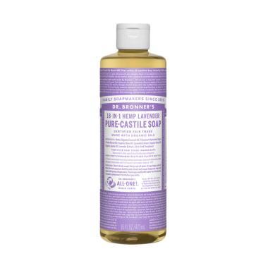 Dr. Bronner's Lavender Pure Castile Soap [473 mL]