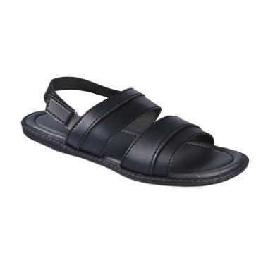 Yongki Komaladi SARO 4932 Sandals Pria - Hitam