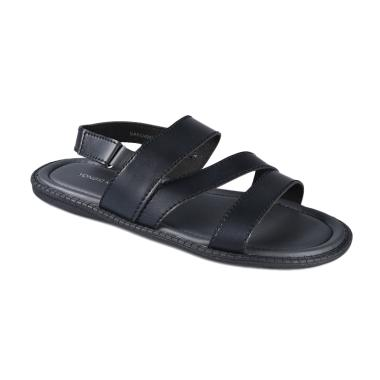 Yongki Komaladi SARO 4933 Sandals Pria - Hitam