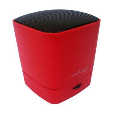 Advance ES030K Mini Portable Bluetooth Speaker - Merah