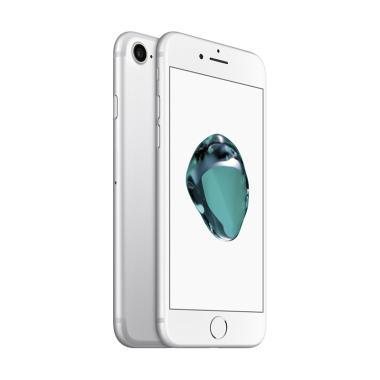 Apple iPhone 7 128 GB Smartphone - Silver [Garansi Resmi]