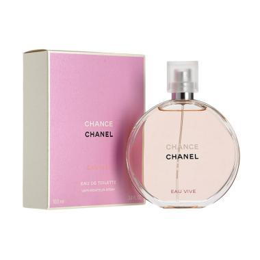 Chanel Chance Eau Vive EDT Parfum Wanita [100 mL]