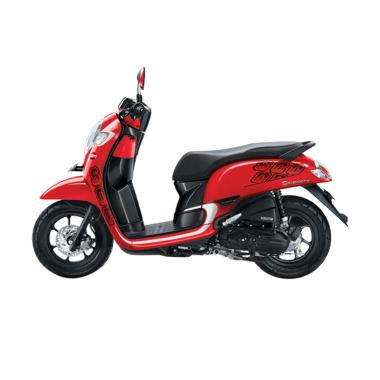 Honda All New Scoopy eSP Sporty Sepeda Motor - Red