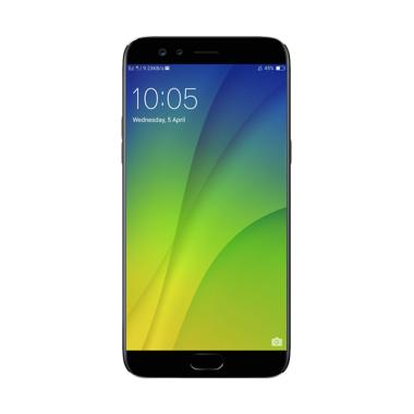 OPPO F3 Plus Smartphone - Black [64GB/4GB/Dual Selfie Camera]
