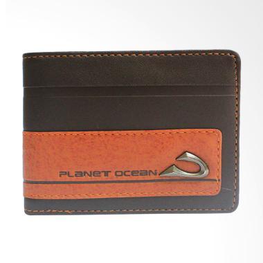 Planet Ocean Dompet Pria Panjang - Cokelat DPO343-980