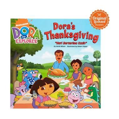 harga Dora the Explorer Dora's Thanks Giving Story Book Blibli.com