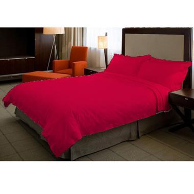 Ellenov Polos Set Sprei dan Bedcover - Pink Fanta