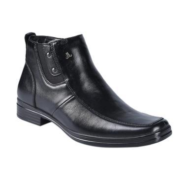 Jim Joker Formal Boot Venus 4B Sepatu Pria - Black