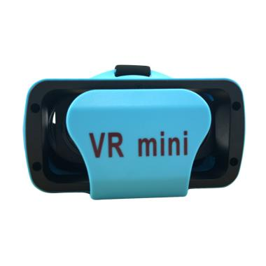 Panzer VR 3D Glasses Mini Virtual Reality - Blue