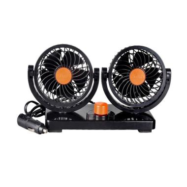 SIV HX-T304 24V Double Mithchell Kipas Angin Mobil - Orange