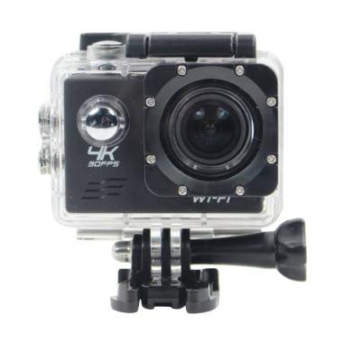 T4Shops Action Camera - Black [4K/ 30fps/ Wifi/ 16 MP/ SONY 179]