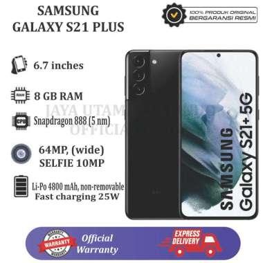 Samsung Galaxy S21 Plus [8GB/256GB] BLACK Garansi Resmi