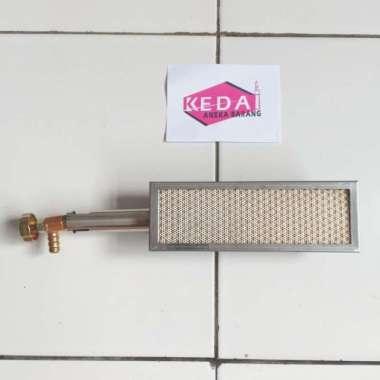 harga Kompor Stove Keramik Ceramic Infrared Gas LPG NG Burner 172mm x 66mm Blibli.com