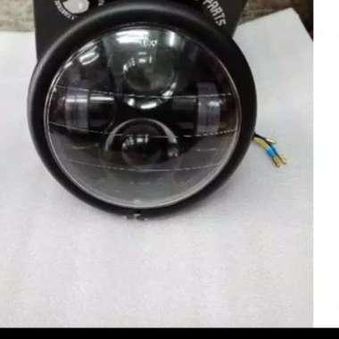 harga Headlamp - Lampu Depan LED Daymaker 5.75 inch Japstyle Harley Custom S Multicolor Blibli.com