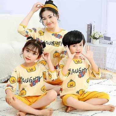 harga Piyama Couple Ibu Dan Anak Chicken Yellow Set 2in1 (baju, celana) 8 tahun yellow Blibli.com