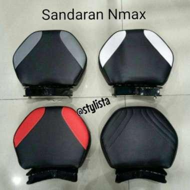 harga Sandaran - Senderan Nmax aksesoris motor Black Red Blibli.com