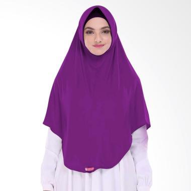 Milyarda Hijab BERGO L Pashmina Instant - Ungu
