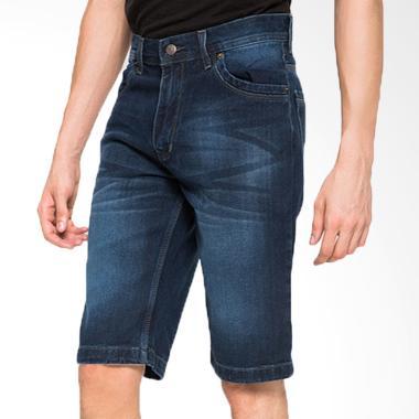 2Nd RED Short Pants Denim Celana Pendek Pria 151617 - Dark Blue