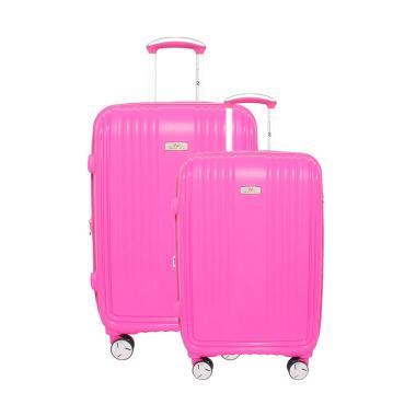 Navy Club 3868 Hardcase Set Tas Koper - Pink [20 dan 24 Inch]