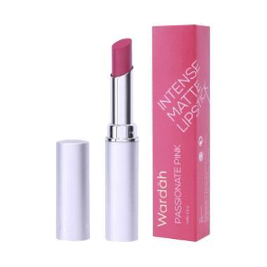 Wardah Intense Matte Lipstick 07 Passionate Pink [2.5 g]