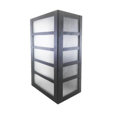 Best Lighting Taman D11 BK Lampu Dinding Minimalis - Hitam
