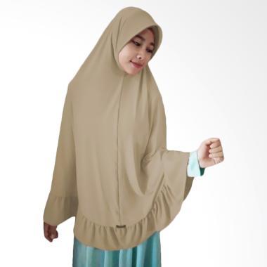 Milyarda Hijab Instant Bergo Pet Ihrom - Cream