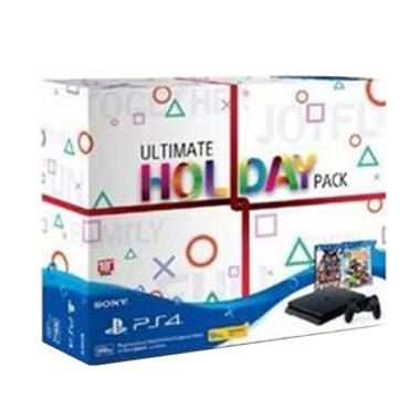 SONY PlayStation 4 Slim Ultimate Holiday Pack Game Console [500 GB]