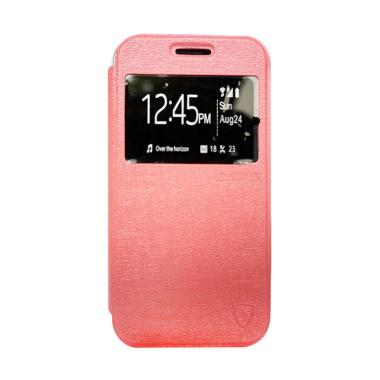 ZAGBOX Flip Cover Casing for Oppo R9s Plus - Pink