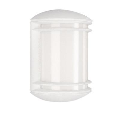 Philips 01465 Wall Lantern Lampu Taman - White [60 W/230 V/1 pcs]