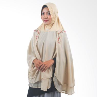 Atteena Hijab Alifa Rafiqah XL Jilbab Instant - Tan