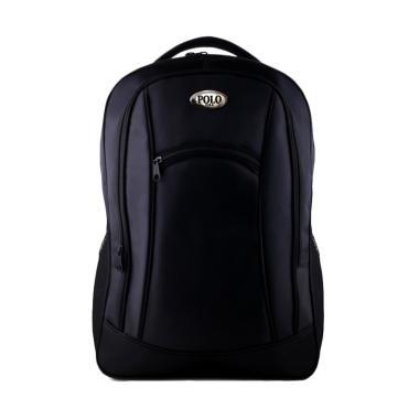 P0l0 Usa Black Bomber Backpack Free Raincover - Beli Harga Murah 3b0cd2f005