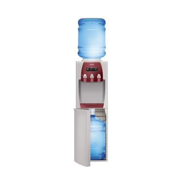 Sanken HWD-Z89 Water Dispenser - Cream Red [Duo Gallon]