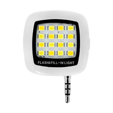 Oem Flash LED Light for Smartphone - White [Lampu Selfie]