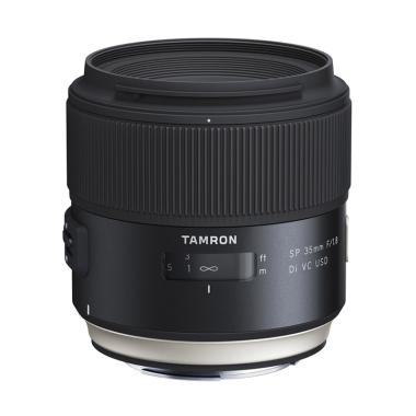 Tamron New SP 35mm F/1.8 Di VC USD Lensa Kamera for Canon