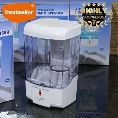 harga Dispenser sabun otomatis 600ML - dispencer sanitizer sensor automatic - 700ml standard (Kode 003)) Blibli.com