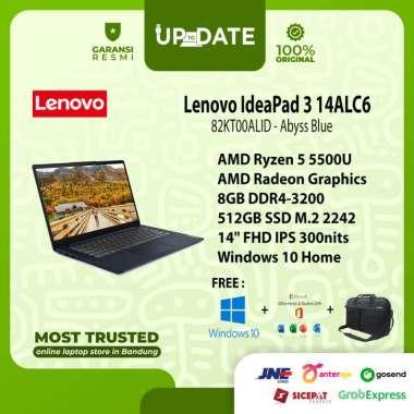 harga Lenovo IdeaPad 3 14ALC6 - ALID - Laptop - [AMD Ryzen 5 5500U / 8GB DDR4 / 512GB SSD / 14