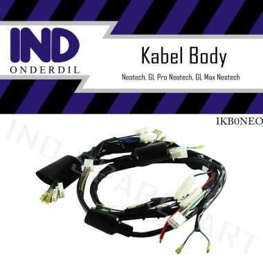 harga IND Onderdil Kabel-Kable-Cabel-Cable Body-Bodi Set Neotech-GL Max-Pro Neotek-Neo HItam Blibli.com