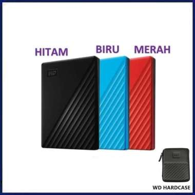 harga WD 1TB My Passport Portable Storage USB 3.2 Gen 1 External Drive HDD BIRU Blibli.com