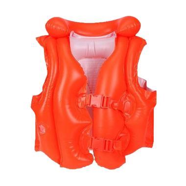 Intex Swim Vest Deluxe Rompi Pelampung - Orange