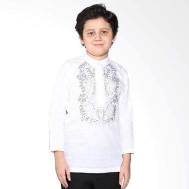 Versail Kids Enfant Sm 7043 Baju Koko Glamour - White