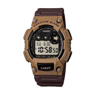 Casio W-735H-5AVDF Vibration Alarm Jam Tangan ... e5752a1d16