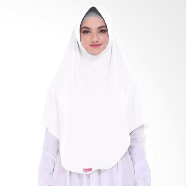 Milyarda Hijab BERGO L Pashmina Instant - White