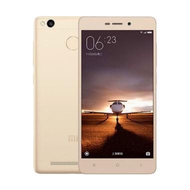Xiaomi Redmi 3 Pro Smartphone - Gold [32GB/ 3GB/ Garansi TAM]