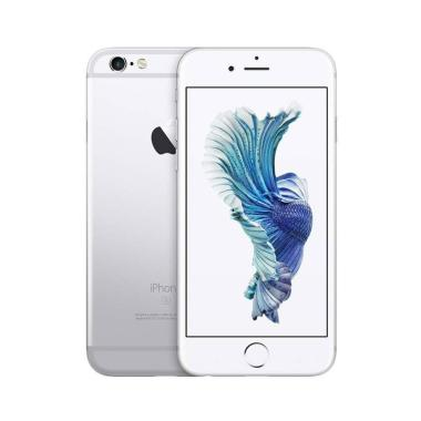 Apple iPhone 6s 32 GB Smartphone - Silver [Garansi Resmi]