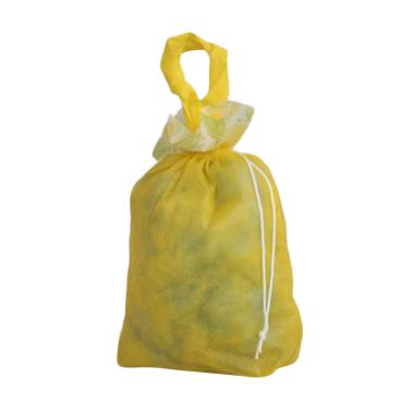 Unique Spunbag Mini Serut Goodie Bag - Kuning [1 Lusin]