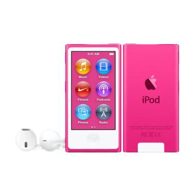 Jual Apple iPod Nano 7th Generation Portable Player - Pink [16 GB] Harga Rp 2500000. Beli Sekarang dan Dapatkan Diskonnya.