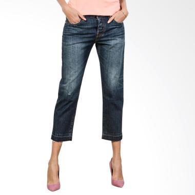 Levi's Onyx Mountain 501-R CT Celana Jeans Wanita - Blue